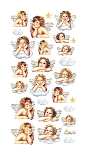 SOFTY-Stickers Putten Engel von A -Z Bastelshop auf DaWanda.com
