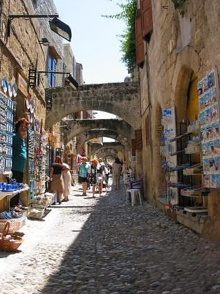 Rhodes Greece - bought lots of stuff here