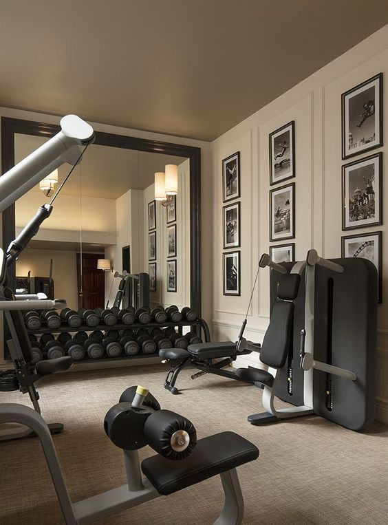 Pin by madison on @ home gym inspo in 2019 gym workouts basement