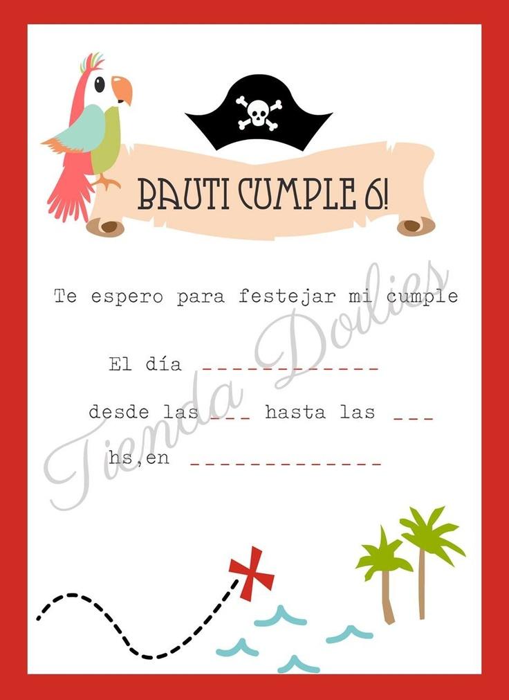 Cumple Pirata de Bauti!