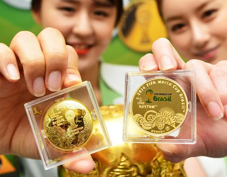 World Cup coins