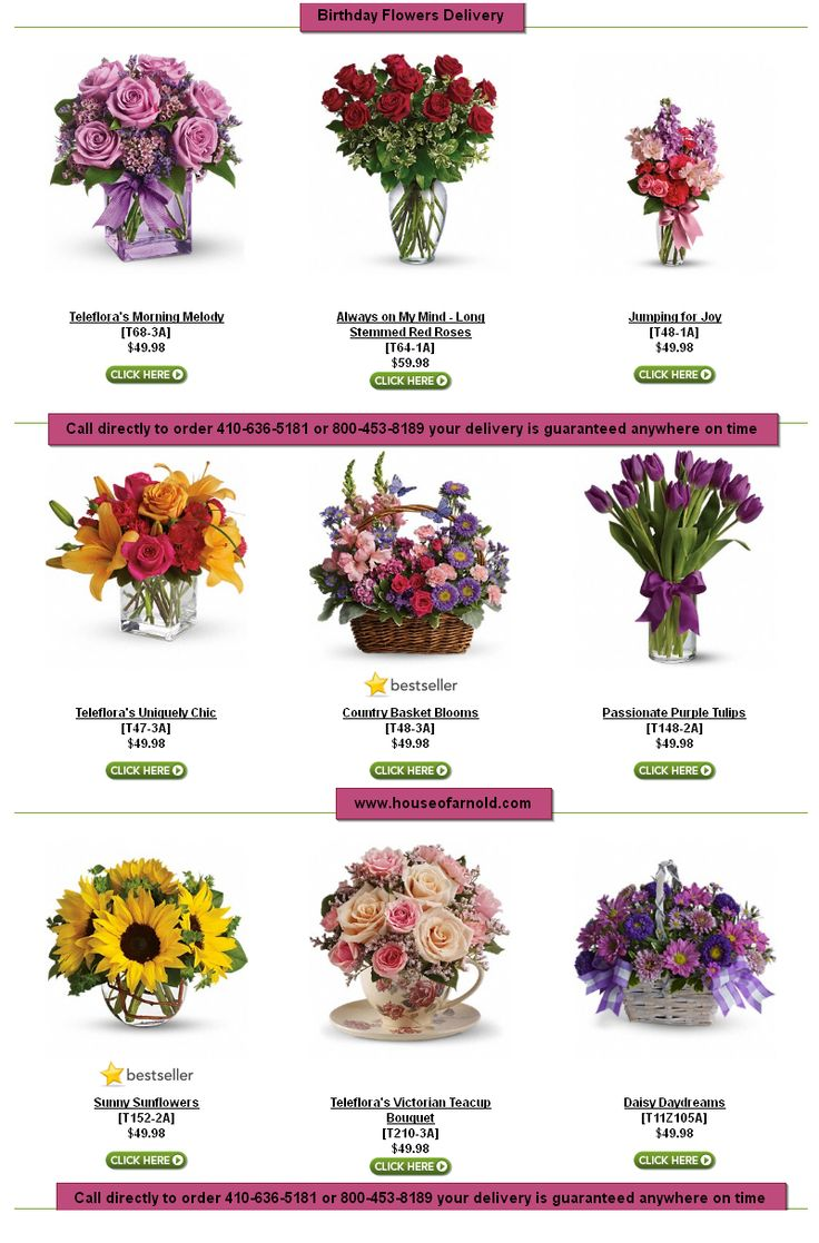12 best flower delivery images on pinterest flower delivery send the perfect flowers from house of arnold florist we offer the freshest and most beautiful flowers for baltimore flower delivery izmirmasajfo