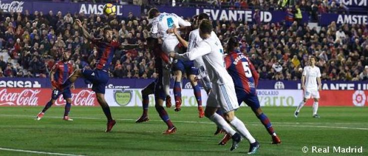 2-2: A last minute goal denies the Whites victory against Levante: Ramos and Isco twiceput the madridistas ahead but they were unable to…