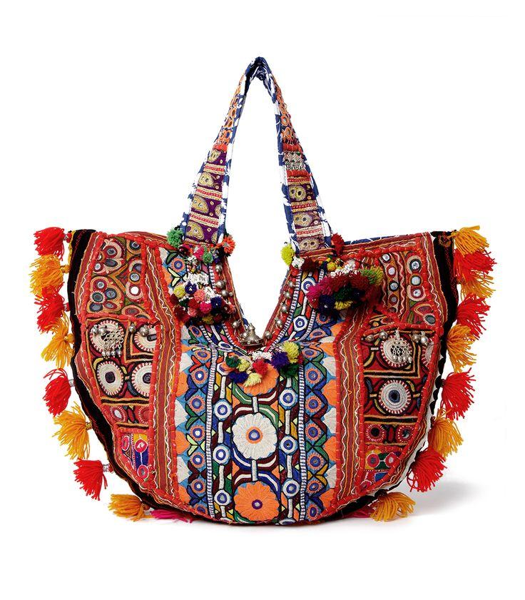 #ShopBAZAAR Designer Spotlight: Muzungu Sisters Mirror Coin Embroidered Bag