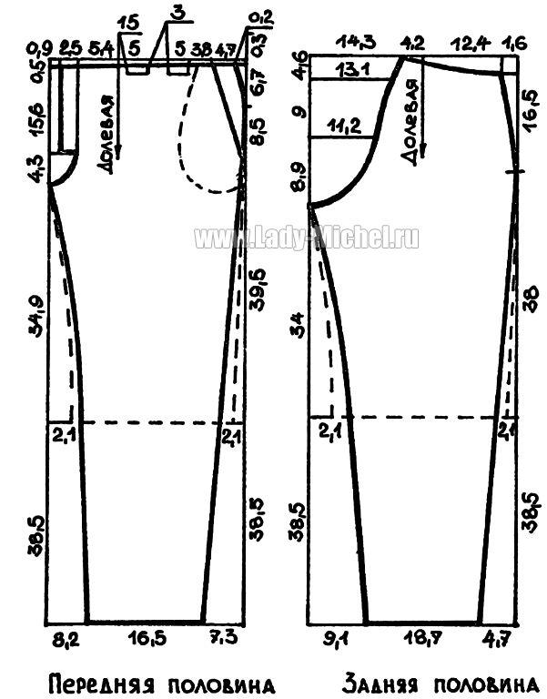 Выкройка брюк для полных женщин фото 539