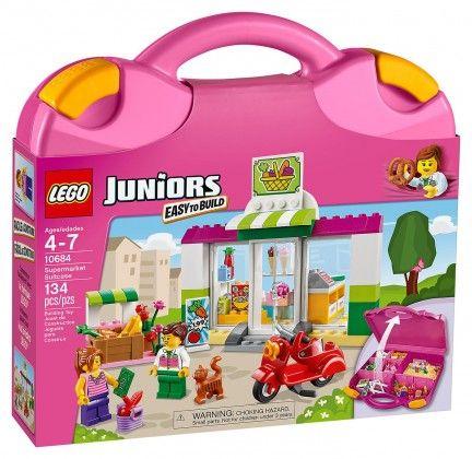 LEGO Juniors 10684 pas cher - La valise Supermarché