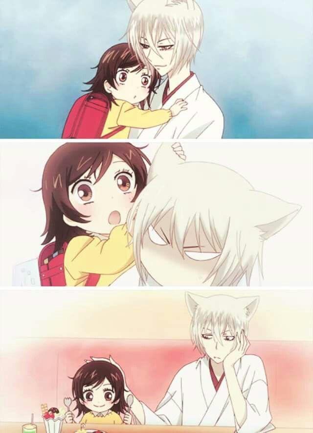 So cute <3 Nanami and Tomoe