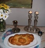 shavuot candle blessing