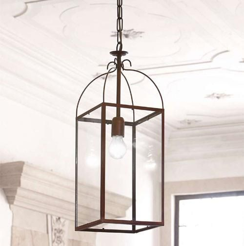 Italian Designed and Made Antique Brass Lantern – Lighting Collective