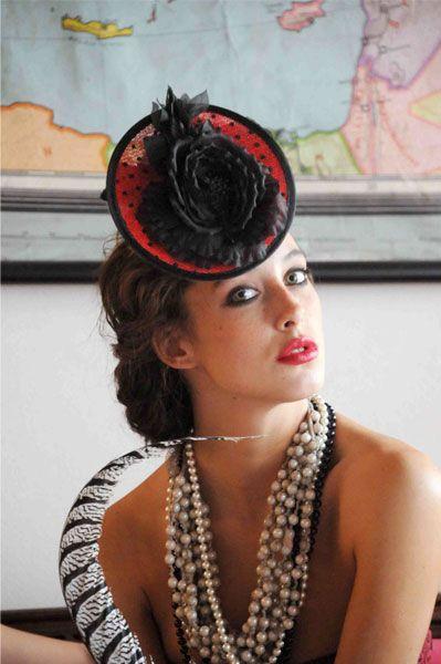 #Cherubina #tocado #sombrero #boda #headpiece #hat #wedding #invitada #millinery