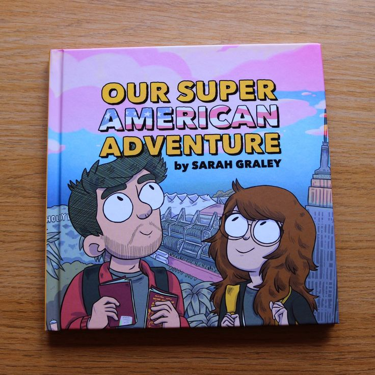 Our Super American Adventure Book (PREORDER) (FREE PATCH!) / Sarah Graley's shop