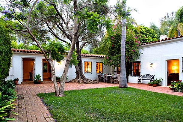 Not exactly tiny, but still a lot of character for it's size......Inside Marilyn Monroe's Brentwood Home