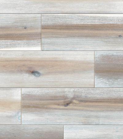 アカシアの乱尺タイプ 120mm幅 ラスティックグレードを長年使い続け塗装がかすれてきたシャビーなフレンチテイストのアラバスターホワイトの自然塗装で仕上げたecoloquia - エコロキアの無垢フローリングのご紹介です。サンプル無料 TEL.078-862-9936(年中無休)