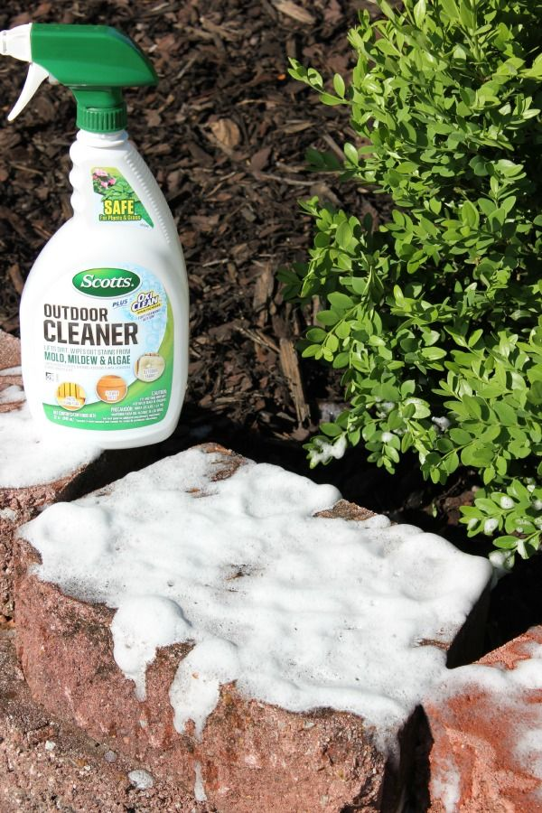 How to clean concrete blocks clean concrete outdoor and for Outdoor concrete cleaner