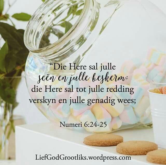 Hemelse Vader, dankie dat U goed is vir my en vir my sorg. Sien my asseblief raak en gee my U liefde.