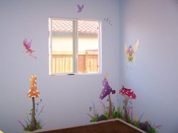 12 best images about handmade fairy doors on pinterest for Children s mural