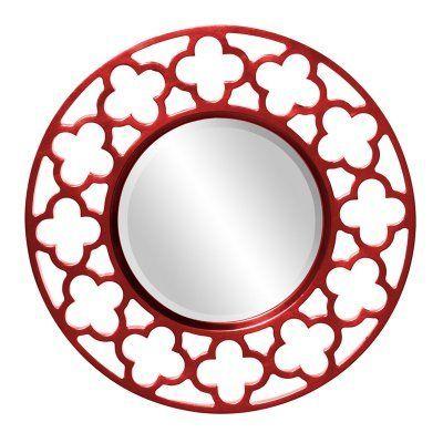 Elizabeth Austin Gaelic Wall Mirror - 20 diam. in. - 92007BL