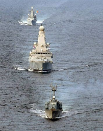 HMS Duncan Op Kipion