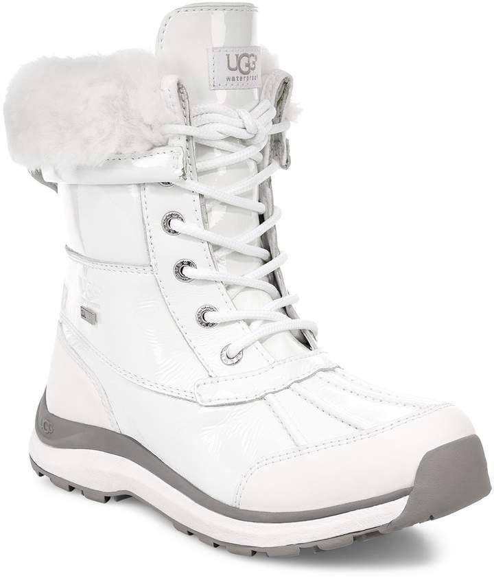 e568d442122 I love a clean White Winter Boot