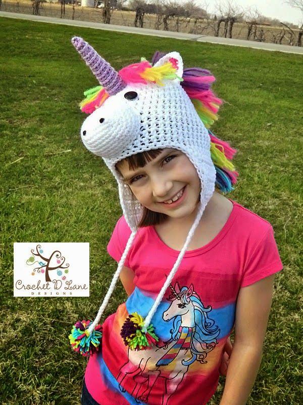 crochet d lane: Majestic the Unicorn Hat