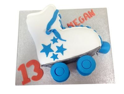 Roller Skates Cake - GBP69.95 - Buy Online, Free UK Delivery