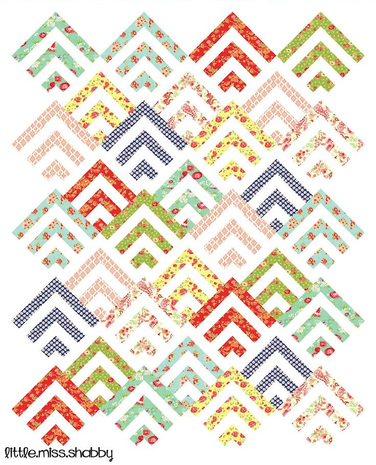scrappy mod cabin in my magazine easy quilts summer 2014