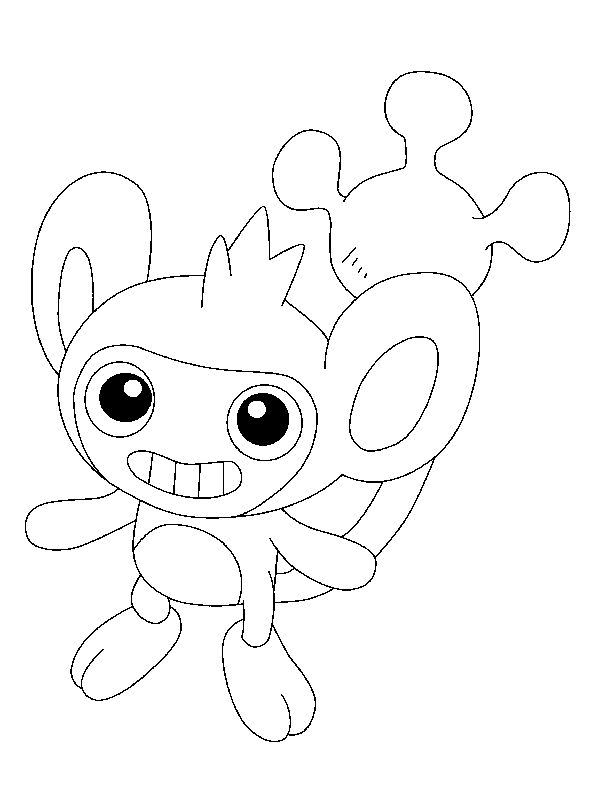 Aipom Pokemon Coloring Page This Lovely Is One Of My Favorite Check Out The NORMAL POKEMON Pages To Find