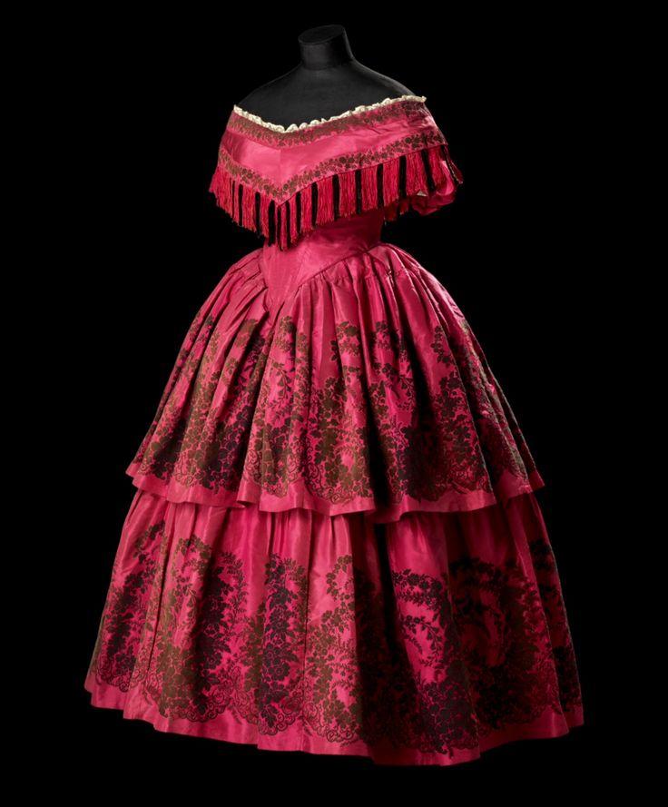 Vintage Wedding Dresses Glasgow: 509 Best 1860's Ball Gowns Images On Pinterest