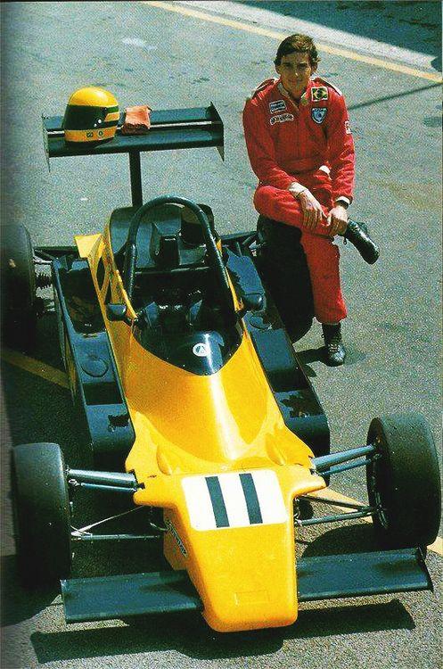 Ayrton Senna - Formula Ford 2000 1982