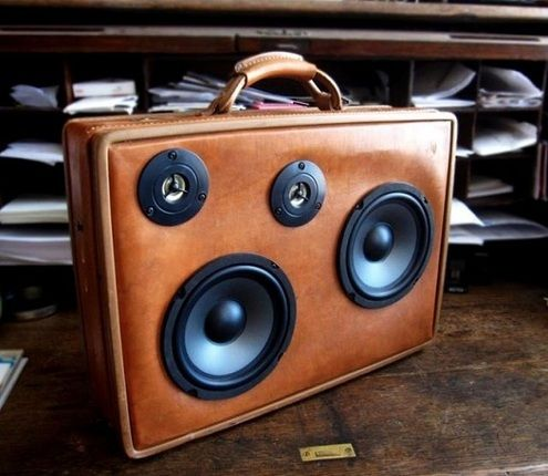 17 Best images about Vintage suitcase speaker box on Pinterest ...