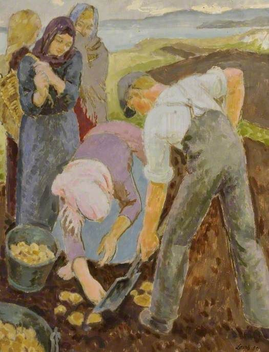 Donegal Potato Pickers Henry Lamb (1883–1960) Museums Sheffield