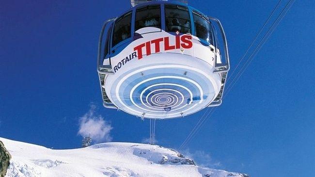 Revolving Gondola Lift, Mt. Titlis
