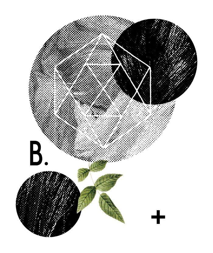 B-plus. Art Print by Anna Dorfman | Society6