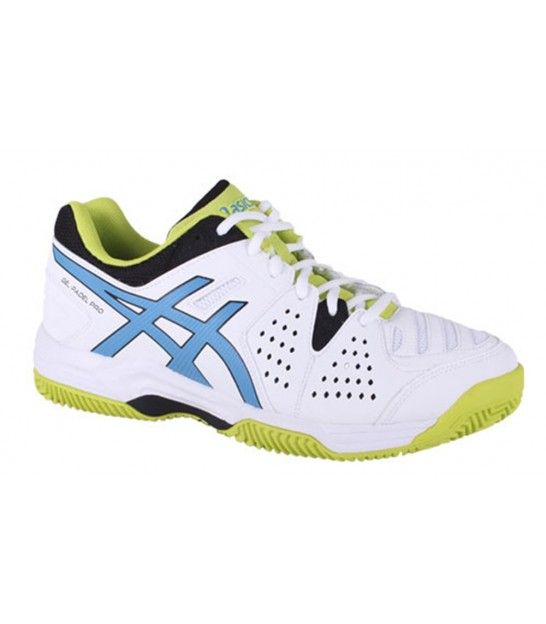 ASICS GEL PADEL PRO 3 SG WHITE / METHYL BLUE / LIME