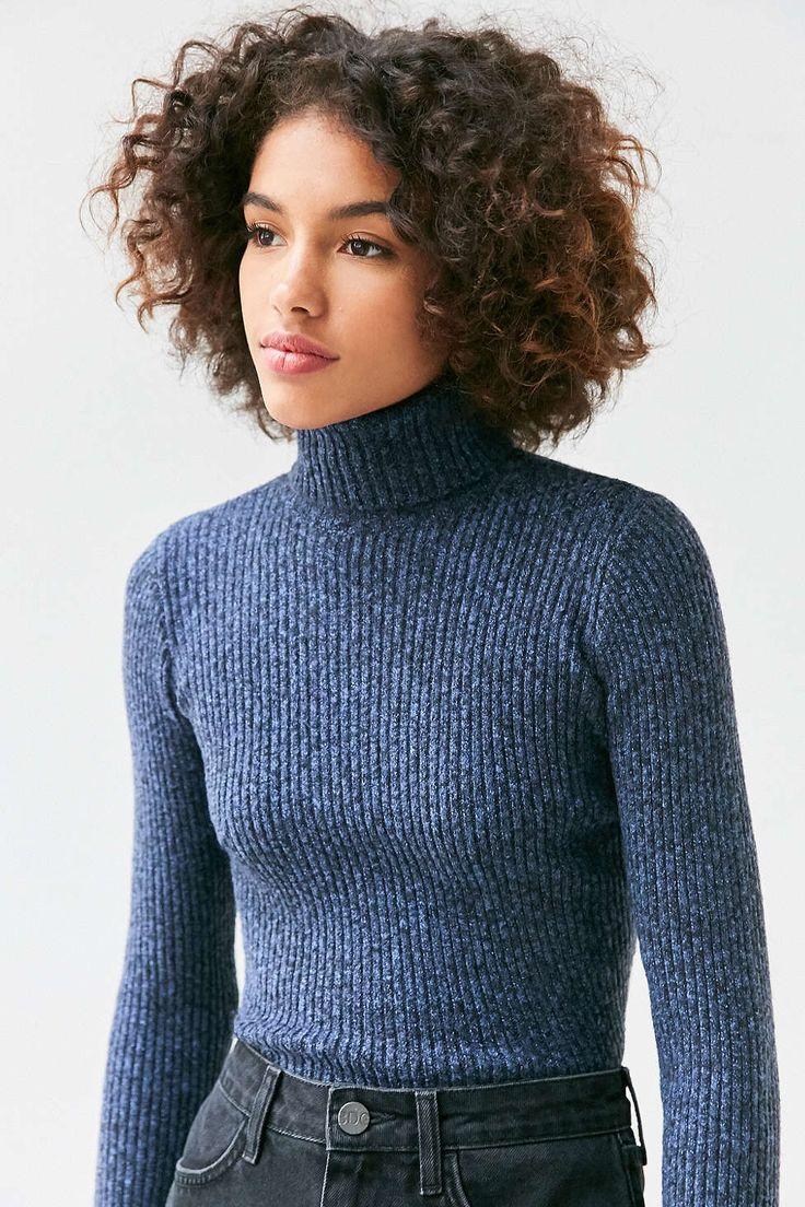 *URBAN OUTFITTERS - BDG || 'Cassandra' ribbed turtle neck sweater | Jersey acanalado de cuello alto 'Casandra'