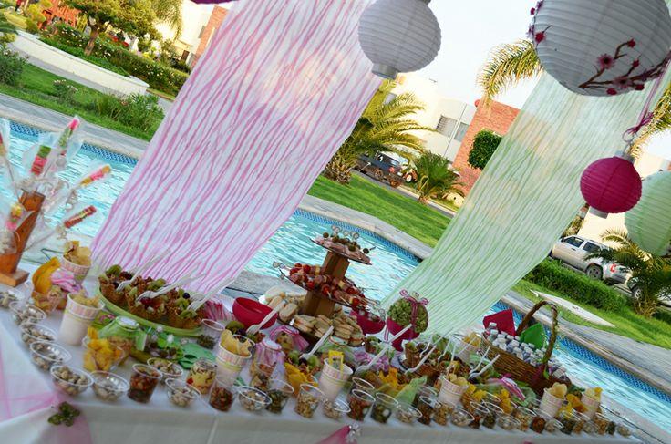 Decoraci n para baby shower con flores y mariposas - Decoracion con mariposas ...
