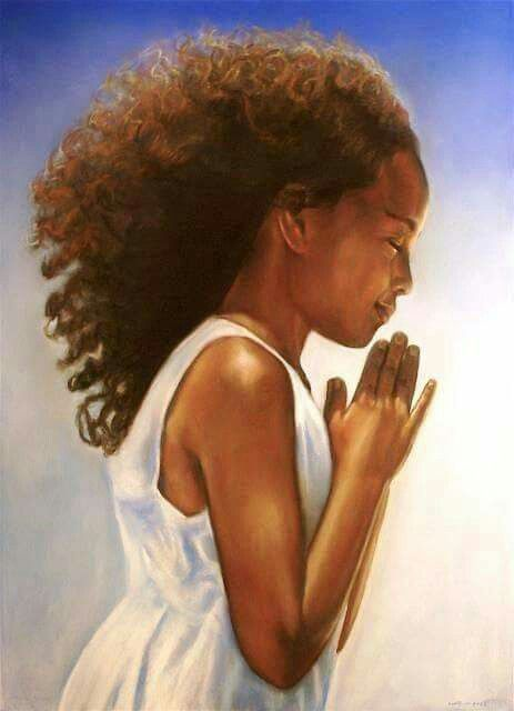 Prayer for the young African American girl......