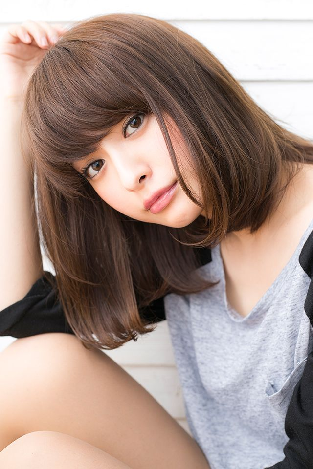 【drive for garden西川真矢】愛され女子の小顔透け感シンプルボブ
