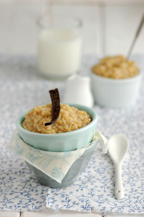 Rice pudding / Riz au lait