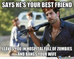 dammit shane!: Thewalkingdead, Stuff, The Walking Dead, Zombie, Funny, Things, Friend, Scumbag Shane