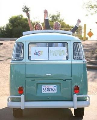 just marriedMariage Combi Vw, Cars, Volkswagen