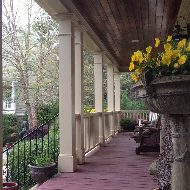 Front Porch Columns The Never Ending Remodel Pinterest