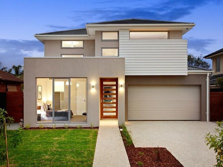 House Facades photo of a house exterior design from a real australian house