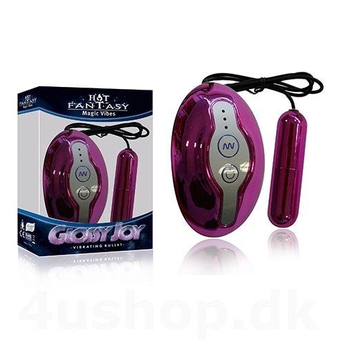 Hot Fantasy - Glossy Joy Bullet - pink - vibrator æg