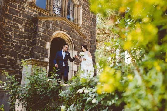 Louisa & Matthew's Elegant Montsalvat Wedding