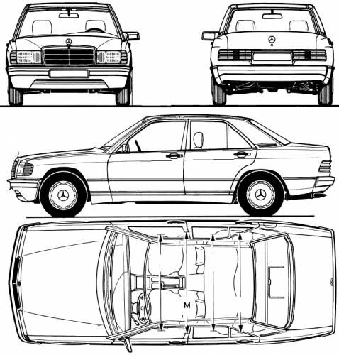 Mercedes-Benz 190E (1983)