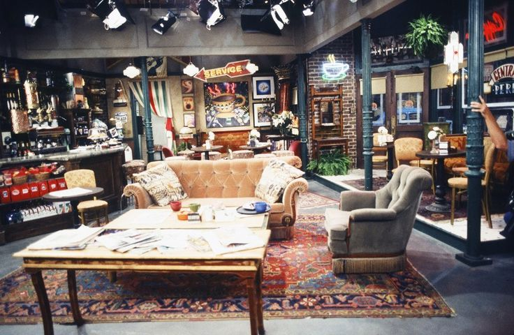 """A close-up look at Central Perk: 