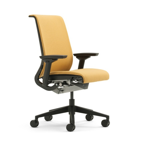 Steelcase think mid back upholstered office chair for Different color chairs