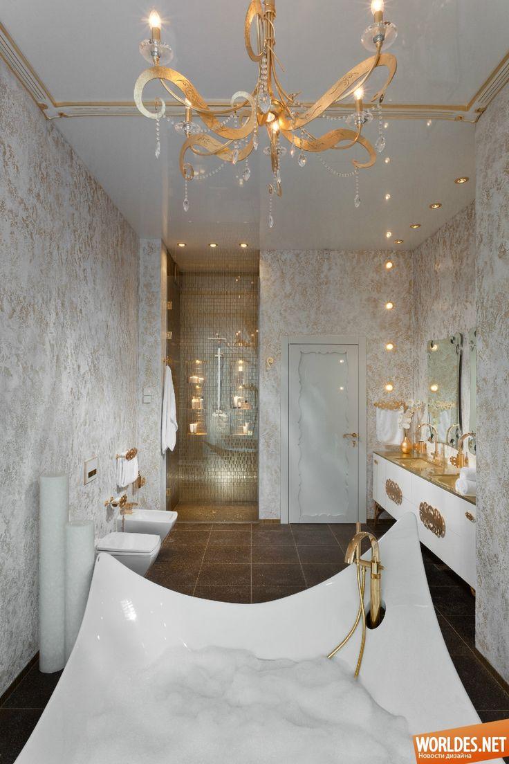 Роскошные ванные комнаты фото 32