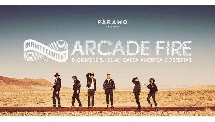 Arcade Fire visitará por primera vez Colombia